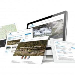 SOFTCON Webdesign Abwasserverband Großache Nord