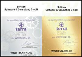 SOFTCON Terra Premium und Service Partner