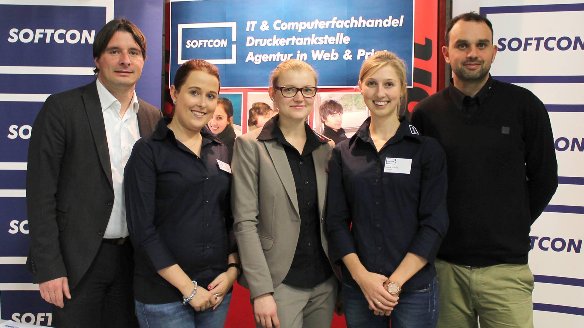 Die SOFTCON auf der Berufsinformationsmesse in St. Johann