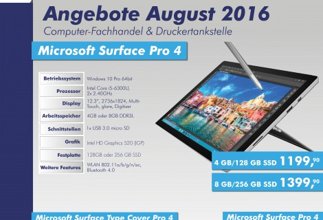 SOFTCON Angebote August 2016