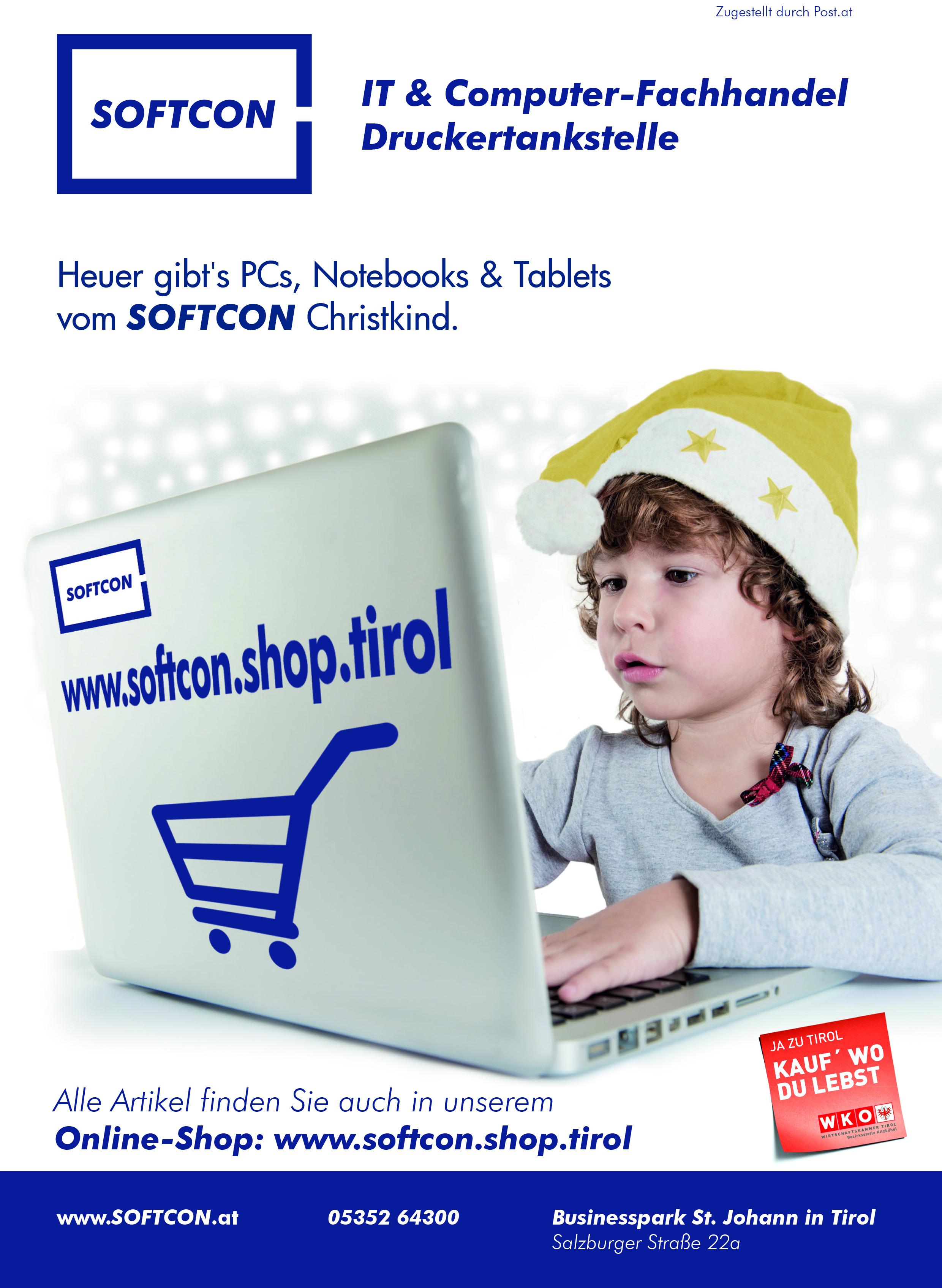 SOFTCON Weihnachtsangebote
