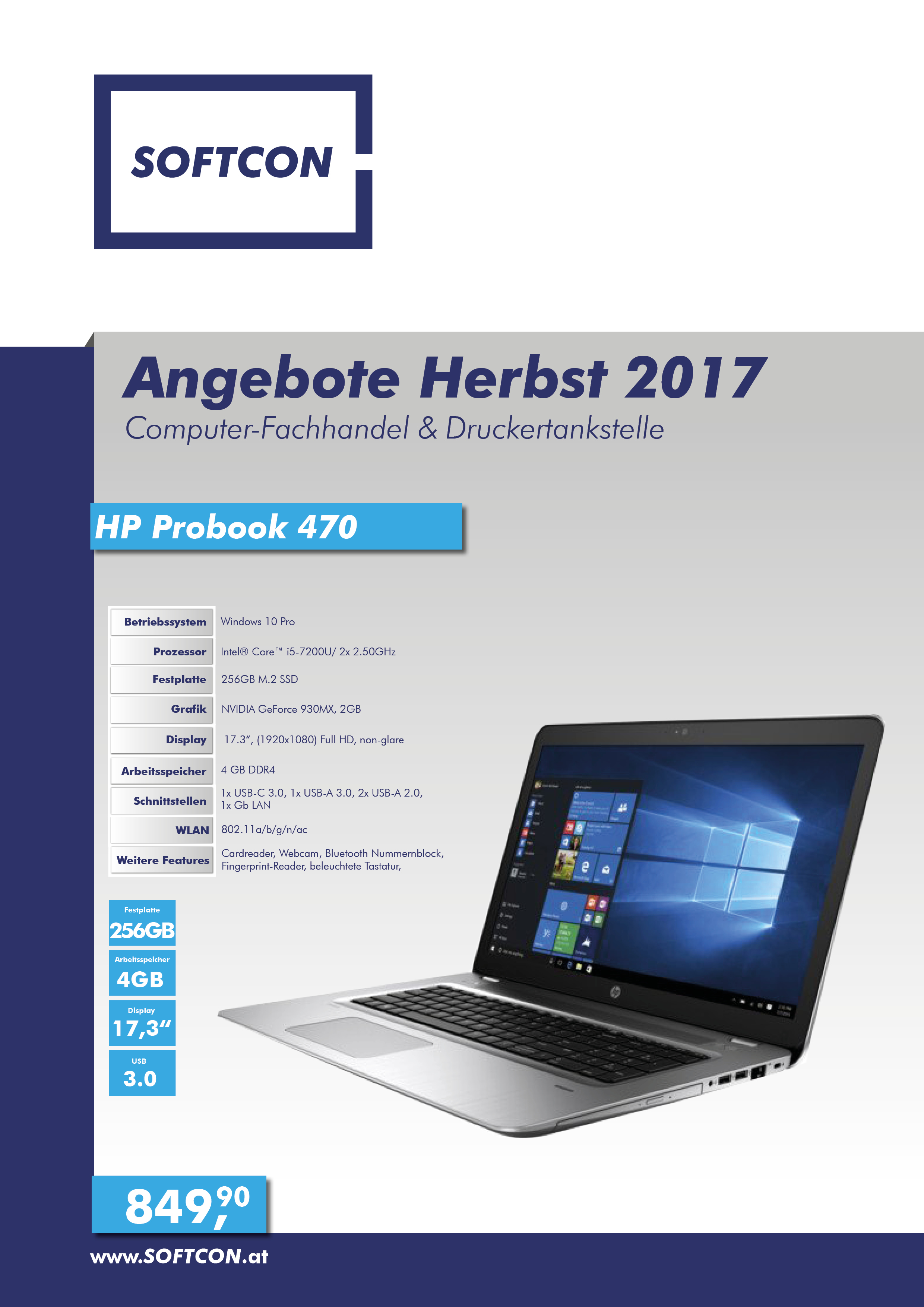 SOFTCON Angebote Herbst 2017