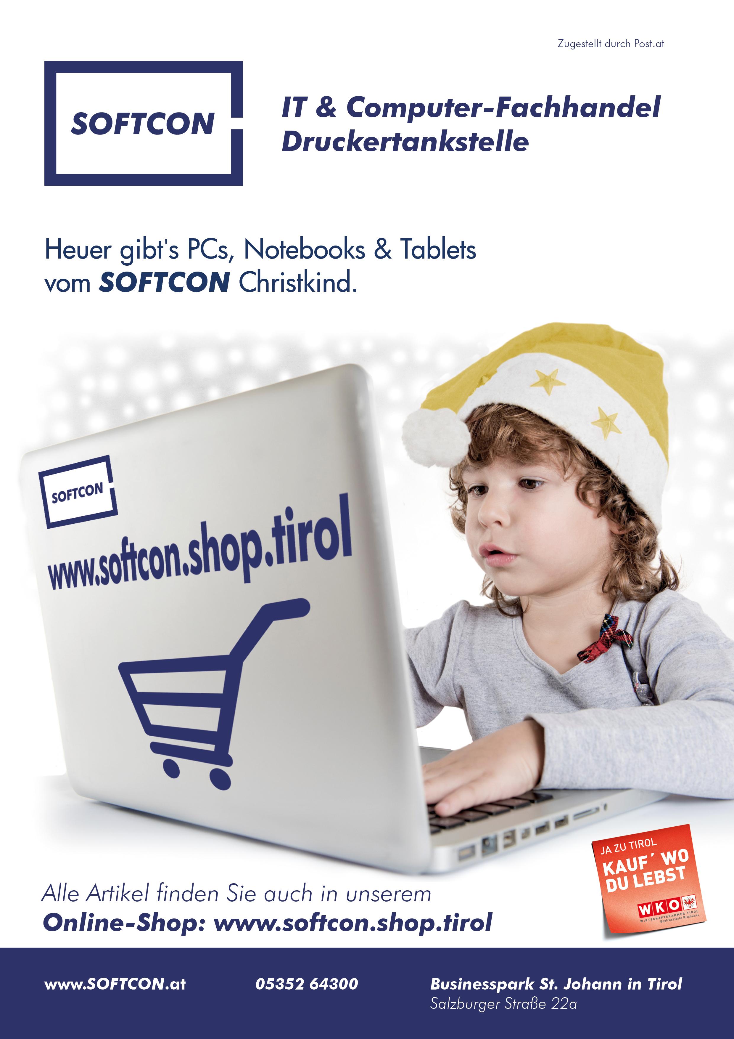 SOFTCON Weihnachtsangebote 2017