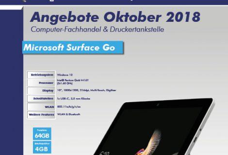 SOFTCON Angebote Oktober 2018