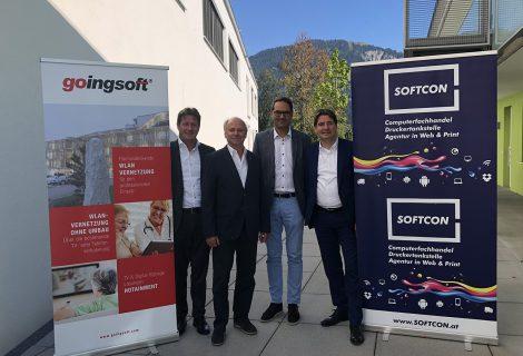 Der künftige Wirtschaftskammer Präsident Tirols stattete uns und unserer Partnerfirma Goingsoft einen Besuch ab