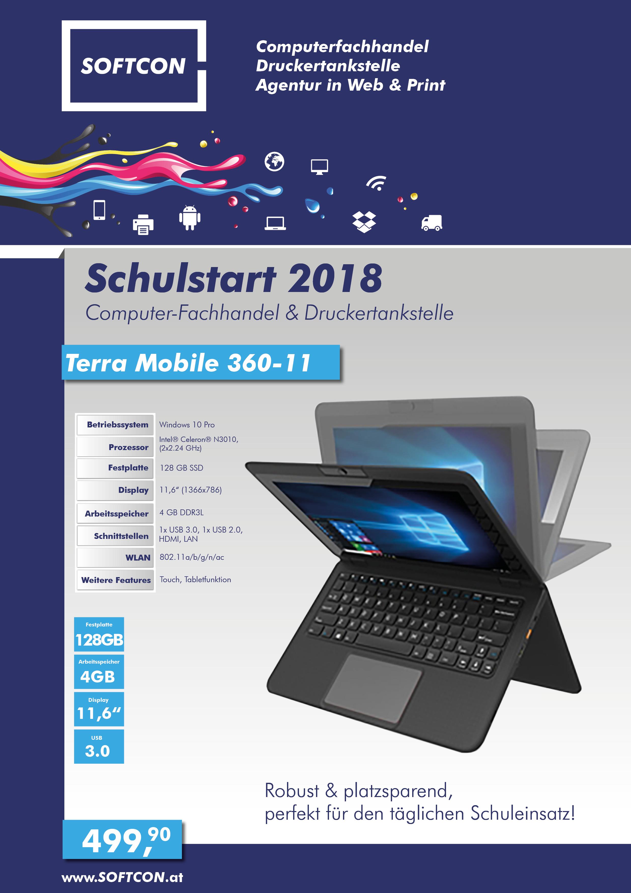SOFTCON Schulstart 2018