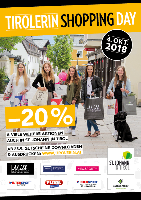 SOFTCON Shoppingday 4. Oktober 2018