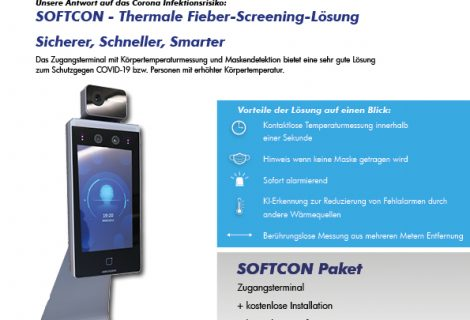 SOFTCON Thermale Fieber-Screening-Lösung