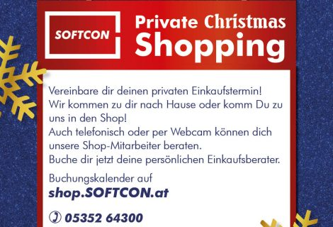 Private Christmas Shopping
