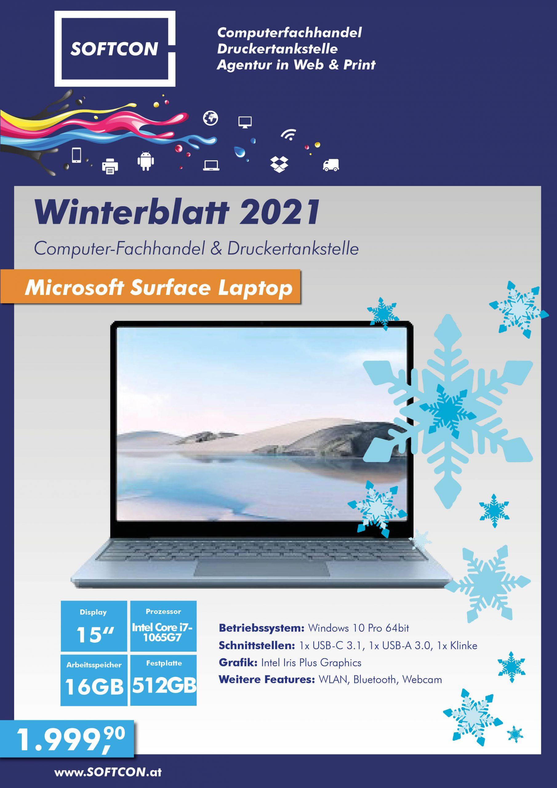 SOFTCON Winterblatt 2021
