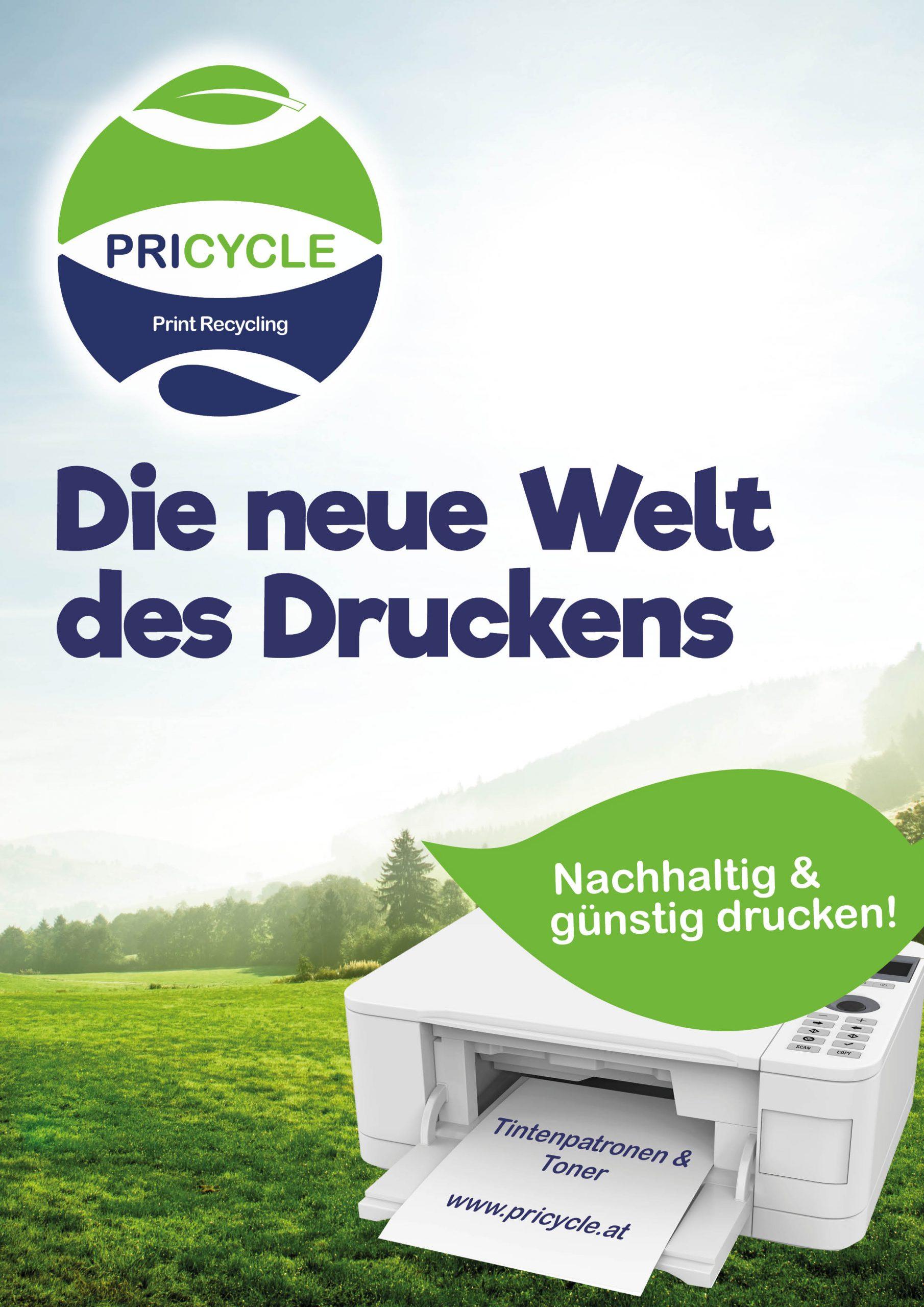 PRICYCLE-Die neue Welt des Druckens