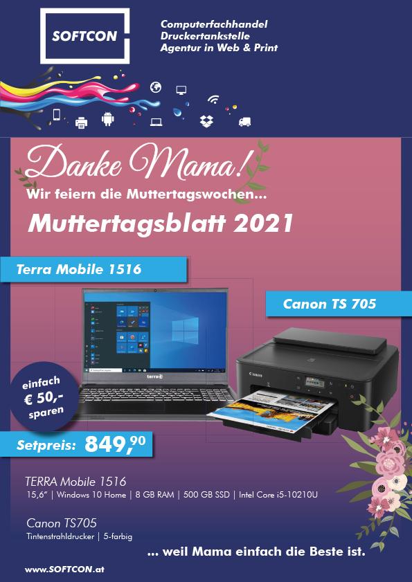 Muttertagsblatt 2021