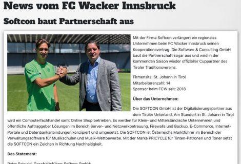 FC Wacker CUP Partner