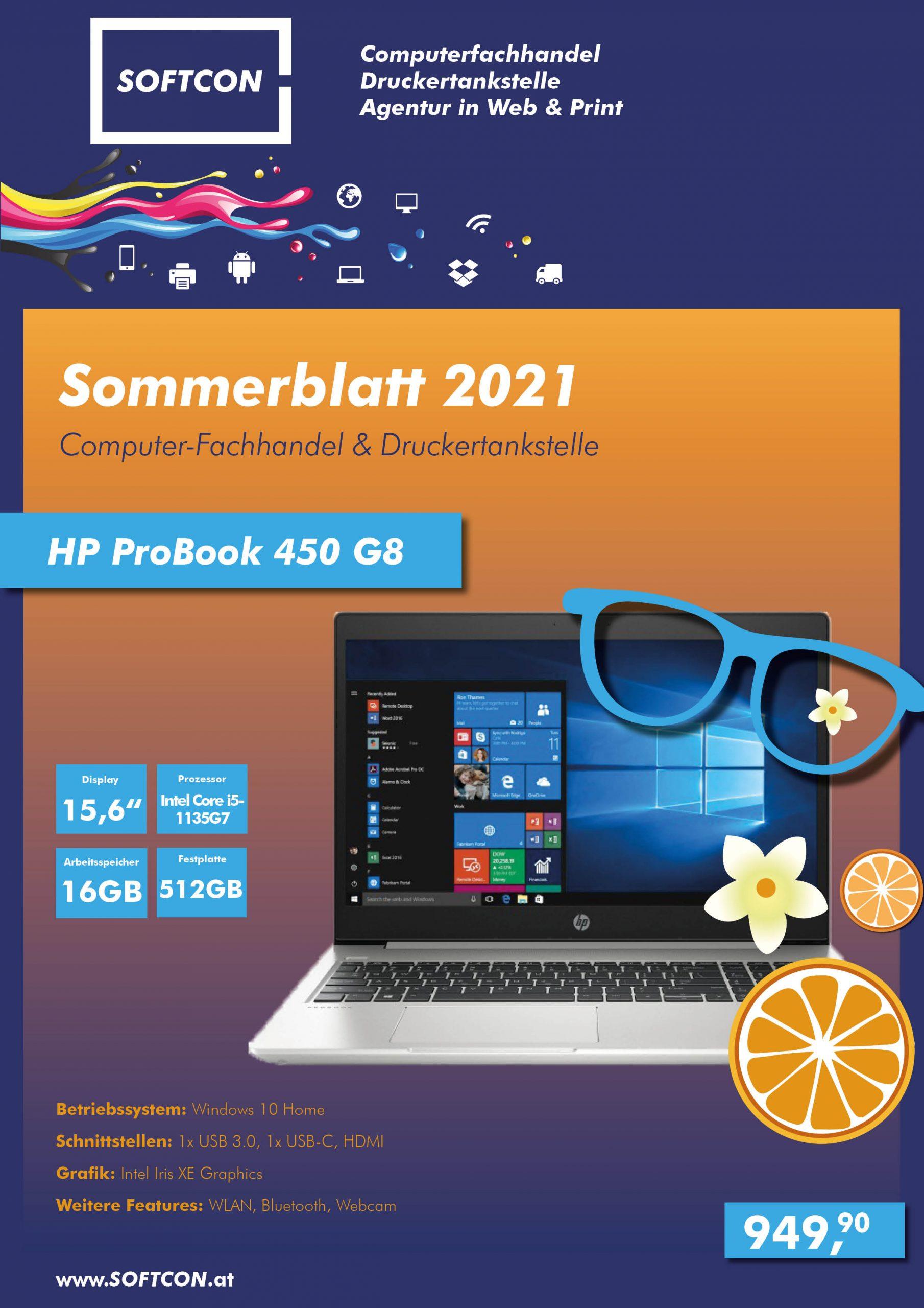 SOFTCON Sommerblatt 2021