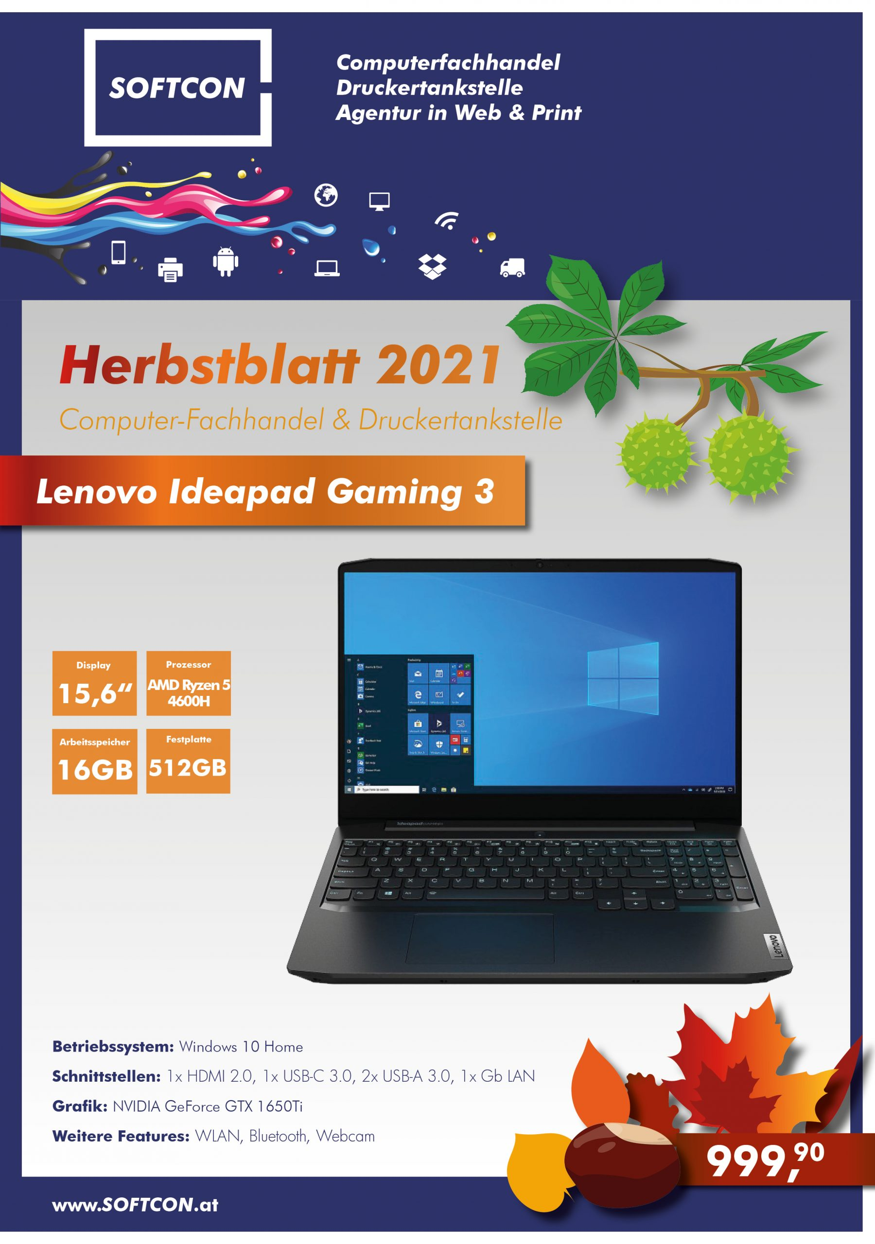 Herbstblatt 2021